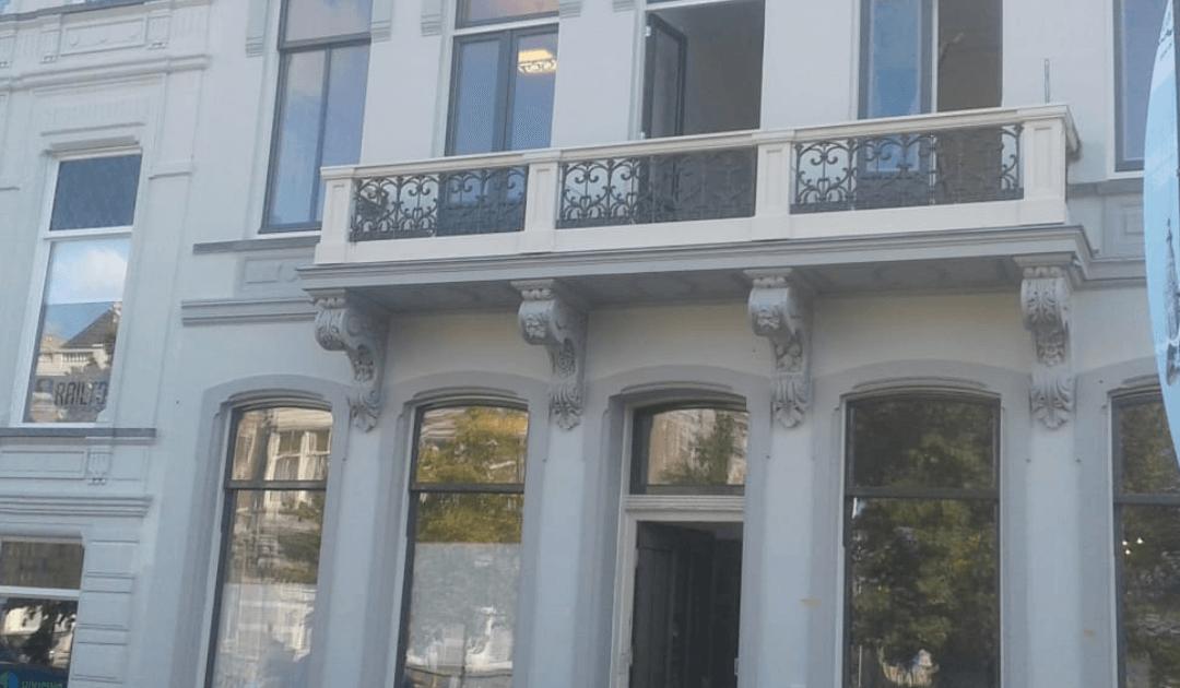 Monumentale panden die staan te verkrotten in hartje Breda
